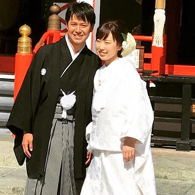 深志神社で結婚式